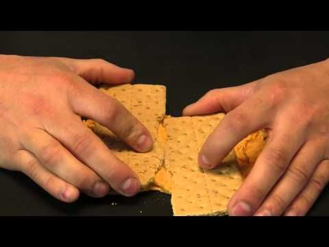 Graham Cracker and Cheese Demo - when plates move (use frosting instead)