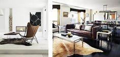 Las alfombras de piel aportarán calidez y un toque distingui    Synthetic leather carpets