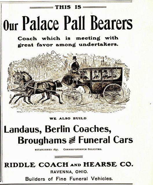 coach-pall bearers | Post mortem