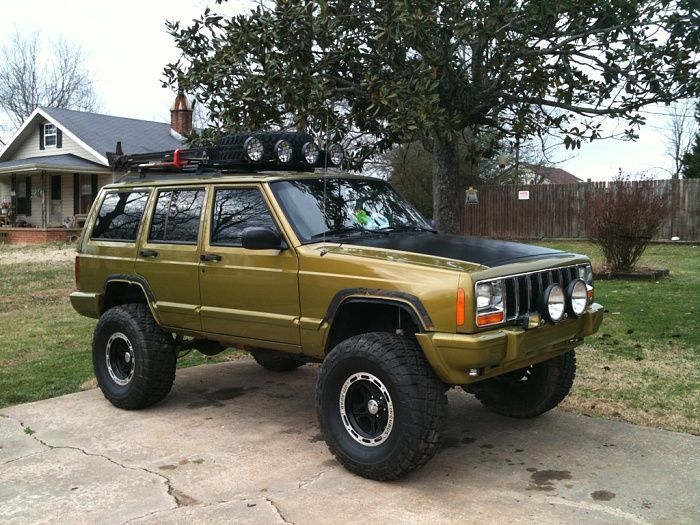 Cherokee Xj For Sale >> 1999 customized cherokee | Offroad | Pinterest | Cherokee ...