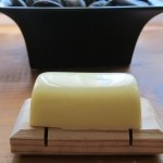 Homemade Lotion Bars.  These are amazing.  Totally works for super dry skin.  Can toss them in your purse.  Making as gifts!