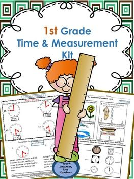 Differentiate with this 1st Grade Measurement Unit includes:*Unit plan that is aligned to common core standards, includes I Can statements, has assessing/instruction ideas, and has technology links to pull from. *Tiered-3 level workshop game that supports learning on multiple levels to meet all the needs in your classroom.