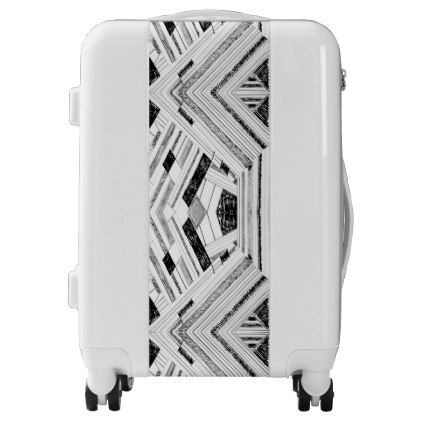 Sketch Retro Doodle Travel Luggage - modern gifts cyo gift ideas personalize