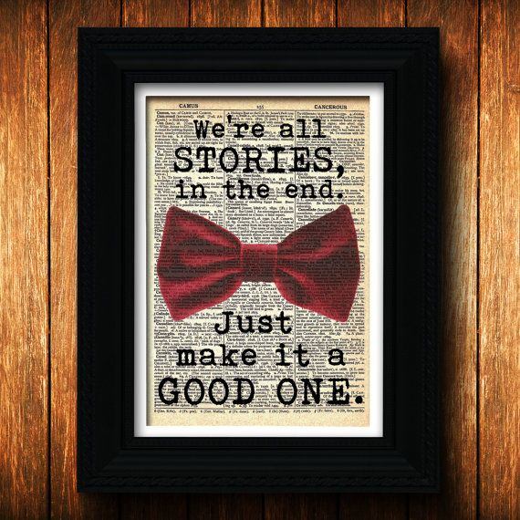 Dr. Who Valentine Bowtie  geek Valentine Dr. Who by TellTalePrints, $8.99