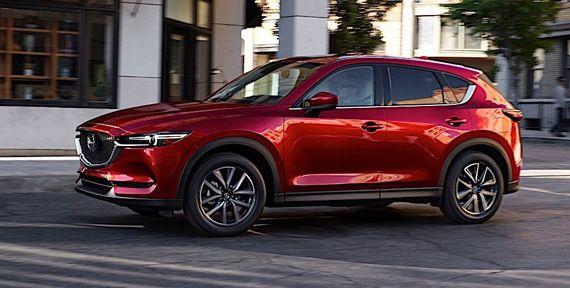 Компактный внедорожник Mazda CX-5 / Мазда СХ-5