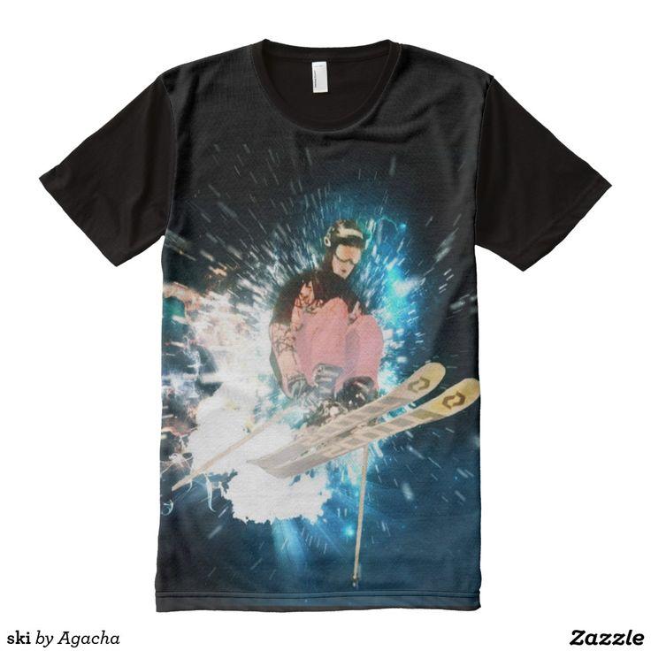 ski All-Over print shirt