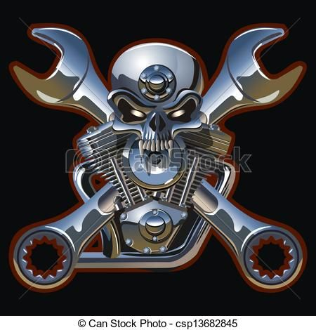 13 best harley engine pic images on pinterest engine tattoo metall skull with engine available vector format eps vector search clip art illustration drawings and graphics images voltagebd Images