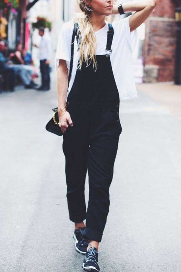 How to Wear Overalls (If You're Above the Age of 22) via @PureWow