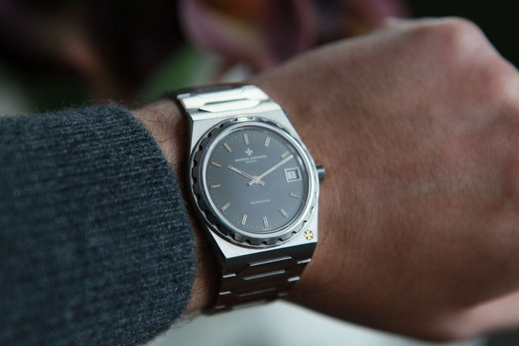 vacheron constantin 222 in SS from 1977 via hodinkee.com