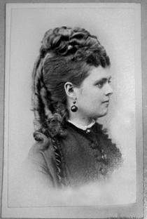 Marie Friberg (1852 - 1934). Mistress of Oscar II. She was an opera singer at the Royal Swedish Opera. She may have had two sons with the king, but he never recognized them.