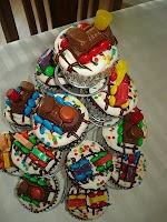 train cupcake