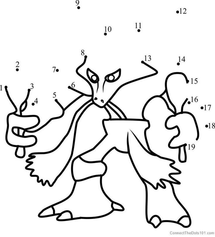 Alakazam Pokemon Go Dot To Dot (With images)   Pokemon ...
