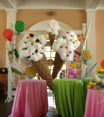 Cache candyland theme. Maybe I'll use this for a  future birthday party for one of the kids.