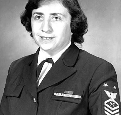 First female Master Chief Petty Officer, Anna Der-Vartanian; US Navy