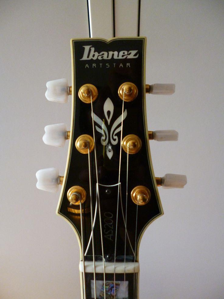 Ibanez AS200 head, Japanese version
