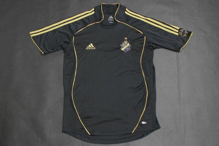 ADIDAS AIK SWEDEN Allsvenskan 2007 SHIRT JERSEY TRIKOT CAMISETA SMALL #adidas #AIK