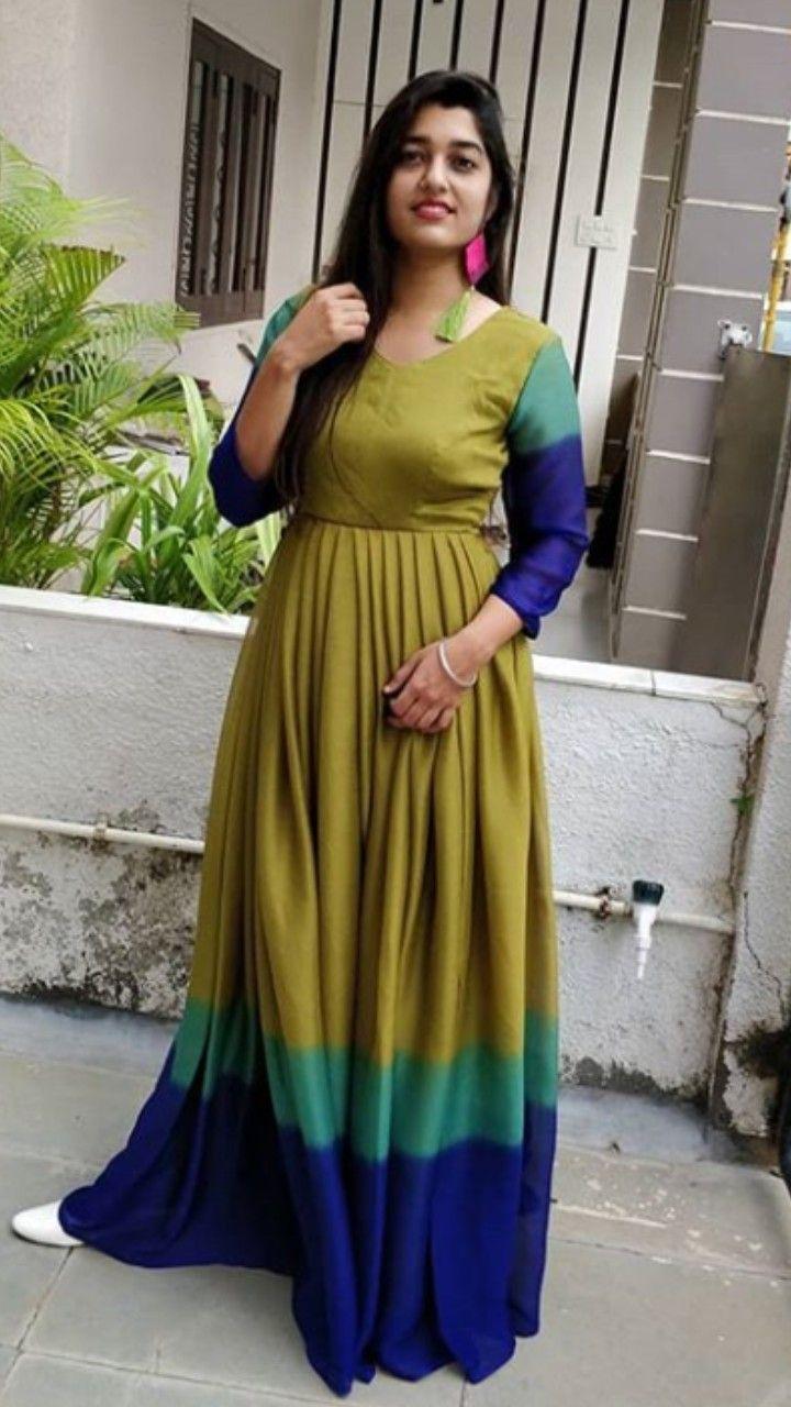 Beautiful color combination. in 2019   Indian designer ...