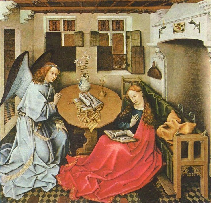 http://www.liveinternet.ru/users/irleo/post412887002/ Robert Campin. The Annunciation. 1440 г
