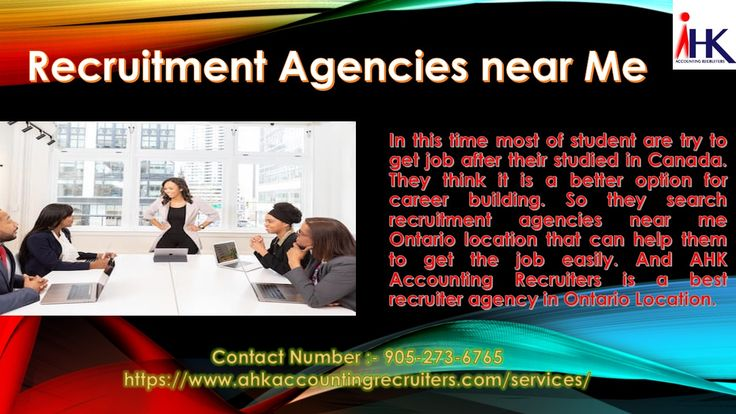 Staffing Employment Recruitment Agencies Near Me