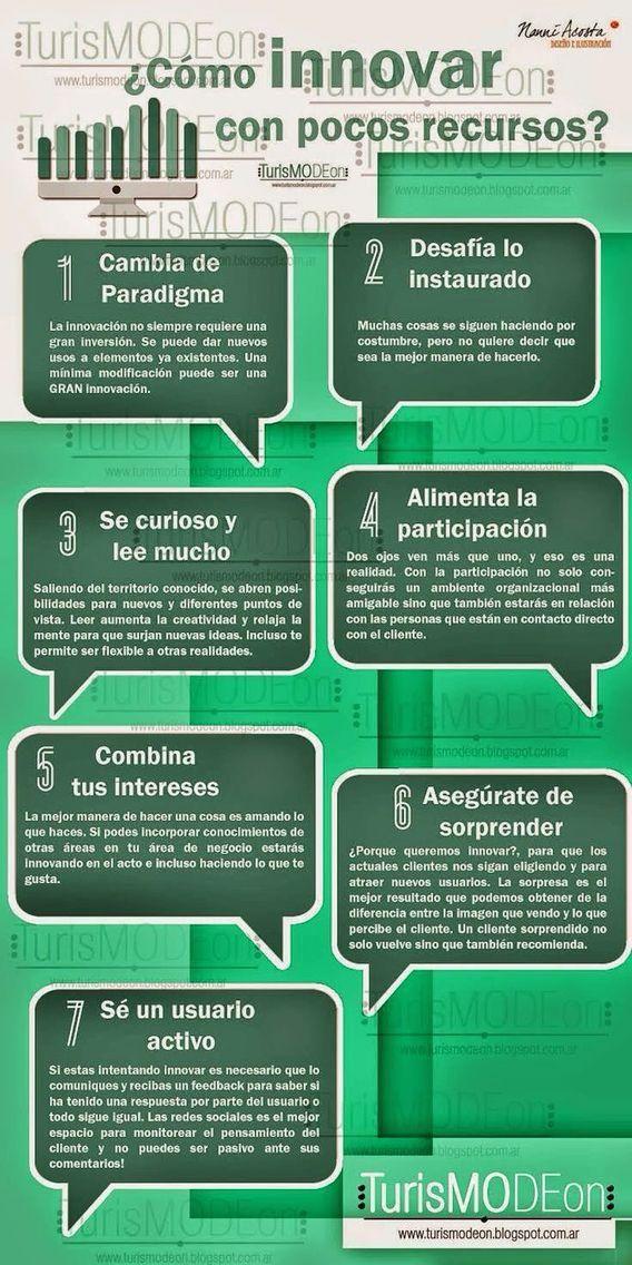 #Educación Cómo innovar con pocos recursos!!!