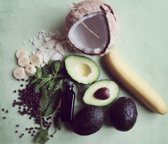 Vegan Avocado Mint Chocolate Chip Ice Cream