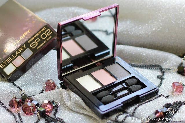 Beauty addicted: Тени для век Stellary Eyeshadow Set SP 02 розовый песок