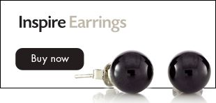 A ridiculous $7.90, matching bracelet $14.90. Black agate brings calm   concentration and courage!