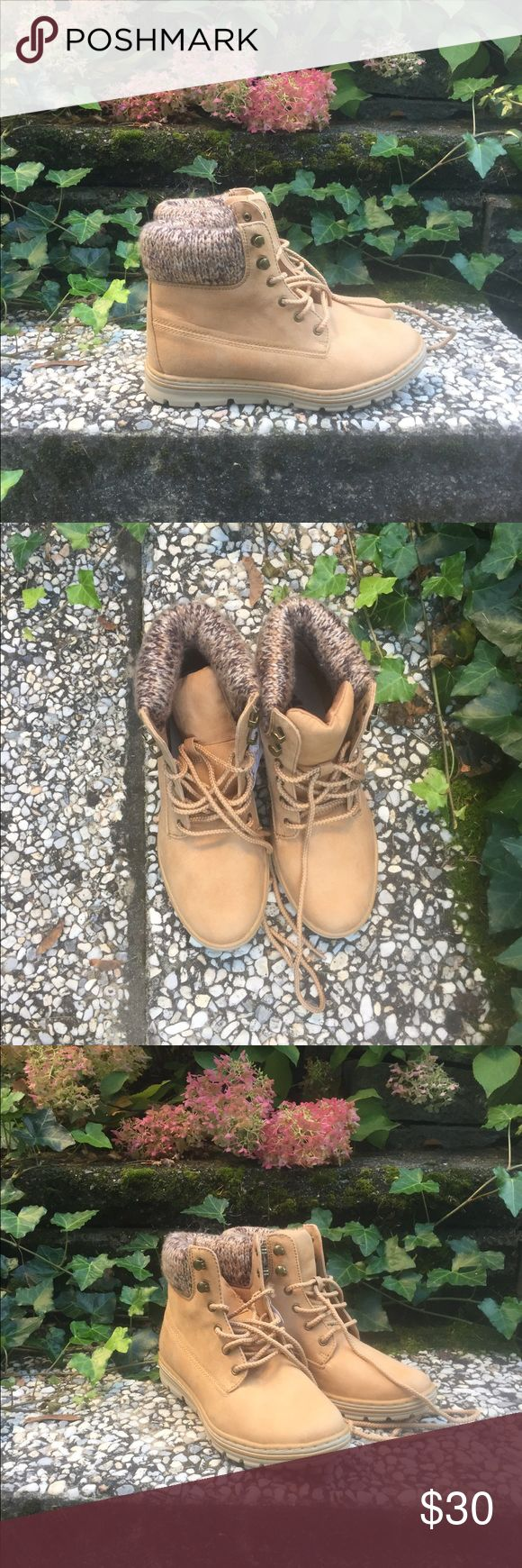 NEW Timberland-like boots! Fake timberland brand but looks just the same! Timberland Shoes