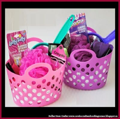 11 best diy birthday ideas images on pinterest gift ideas gift ideas see more dollar store crafter teenage girl easter basket made from dollar negle Gallery
