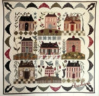 Blackbird Designs - One stitch at a time: Show and Tell....finally