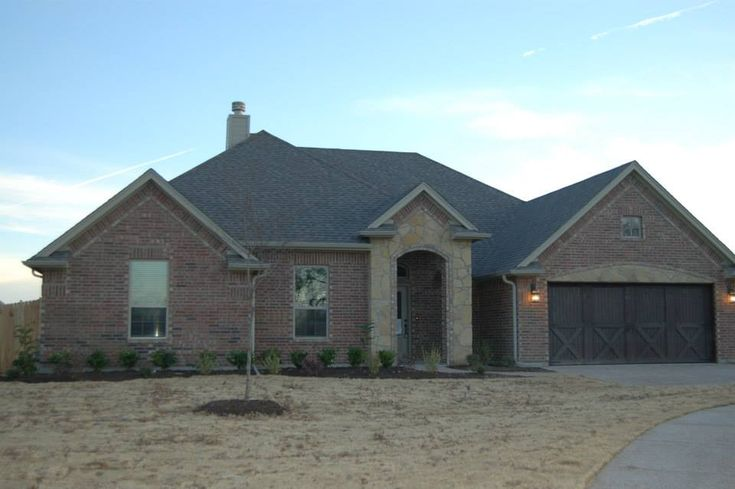 Front Elevation Bricks : Best images about mcbee homes exterior desgins on