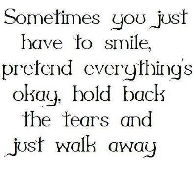 ..sometimes