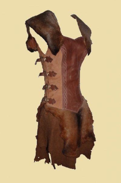 Barbarian Dress Hyborian Female Outfit Larp by Larperlei on Etsy