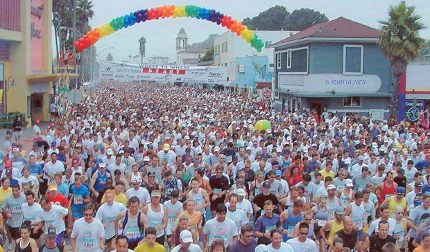 I was apart of the Santa Cruz to Capitola Wharf to Wharf Race today! (7-22-2012) It was my first 10k. AWESOME! Can't wait to do more!