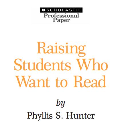 UNDERSTANDING: In this Scholastic article by Hunter (2005), the author identifies the difference between extrinsic and intrinsic motivation. She explains that it is more effective to help shift students towards intrinsic motivation (for example, wanting to read for enjoyment rather than for incentives). I recommend this reading because it is clear, based on research, and offers tips for educators to promote intrinsic motivation.