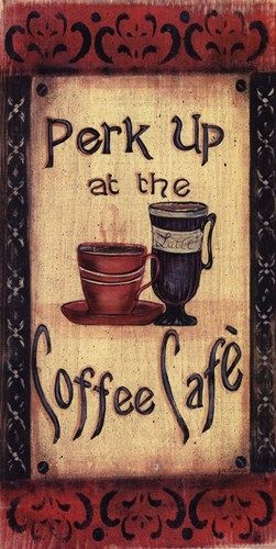 Perk Up at the Coffee Café