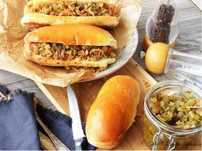 Unterwegs in Berlin: Hot Dogs mit Gurkenrelish