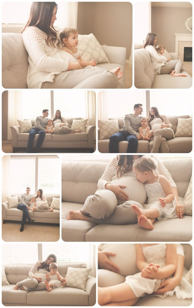 Lifestyle maternity family session