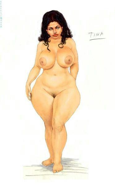 Нарисованные голые толстушки порнухи забывай удалять