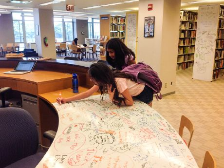 Libraries become a different kind of learning destination when schools reimagine them as open, transparent spaces that invite student communication and collaboration.