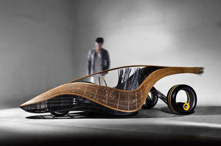 Phoenix Bamboo Concept car, designed by KENNETH COBONPUE and Alb