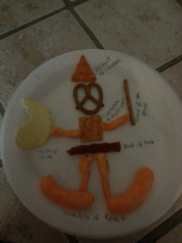 Armour Of God Preschool Crafts