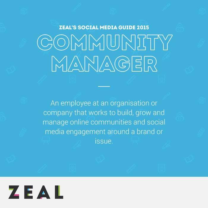 Social Media Glossary: Community Manager #SocialMedia #Glossary #Marketing