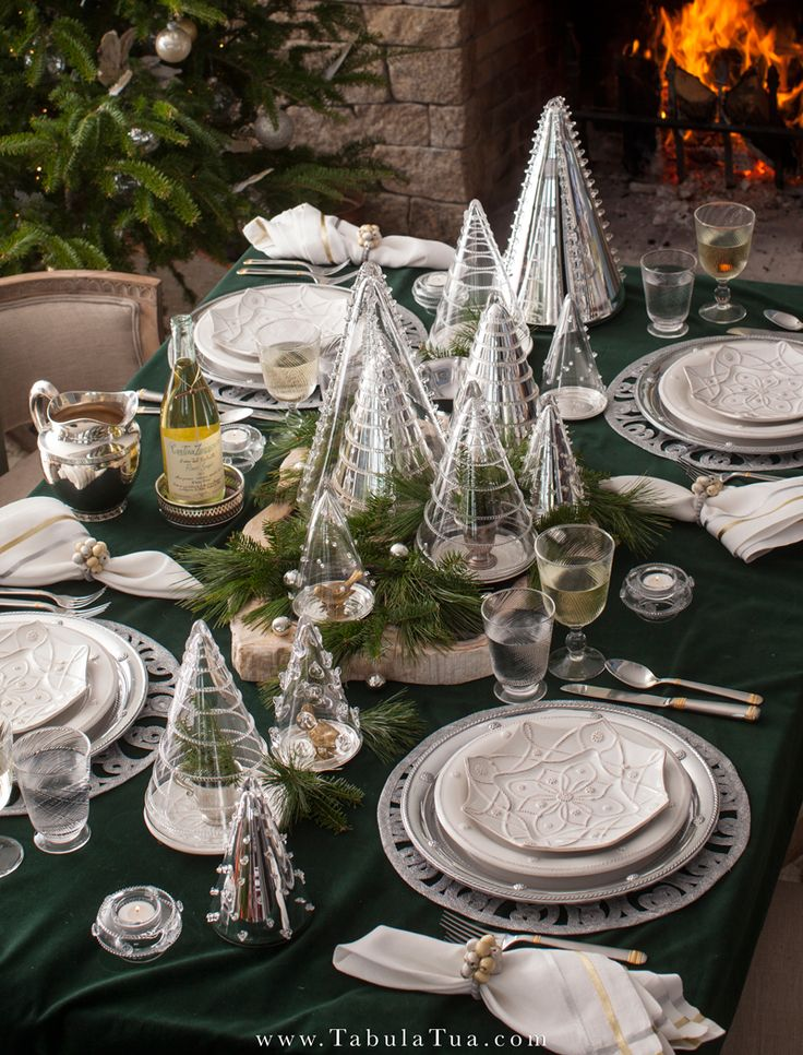 Set Your Table For The Holidays! Our Holiday Table Inspiration.