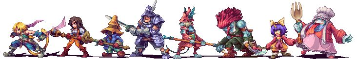 JRPG Characters Look So Good As 2D Sprites - Final Fantasy IX