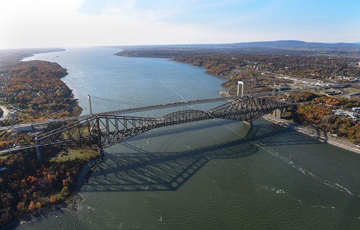Ville de Québec - Pont de Québec 2015.