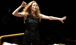 Barbara Hannigan - great article about how she became a conductor, too