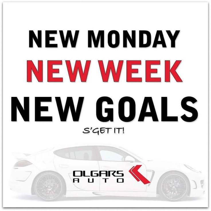 Hello Monday!