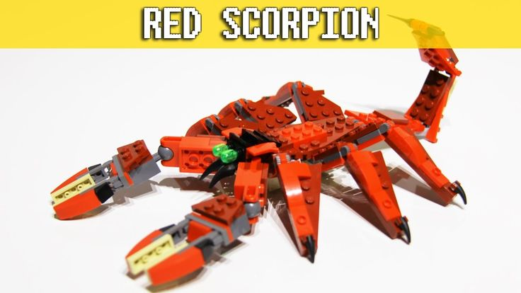 Red Creatures - LEGO Creator 3in1 - Red Scorpion Build set 31032 video: https://youtu.be/HOE4fmP1Zbw