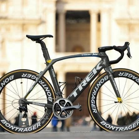 Fabian Cancellara's Trek Domane as ridden in MSR2016